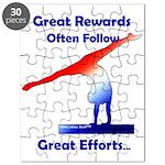 Gymnastics Puzzle - Rewards