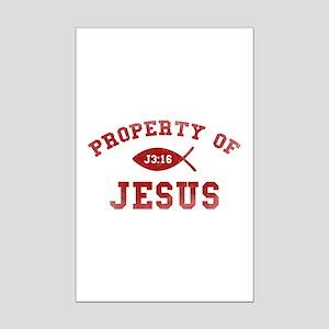 Property of Jesus Mini Poster Print