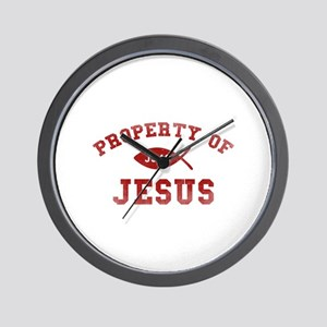 Property of Jesus Wall Clock