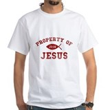 Christian property of jesus Mens Classic White T-Shirts