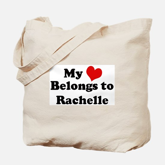My Heart: Rachelle Tote Bag