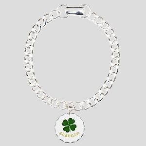 Shannon Irish Charm Bracelet, One Charm