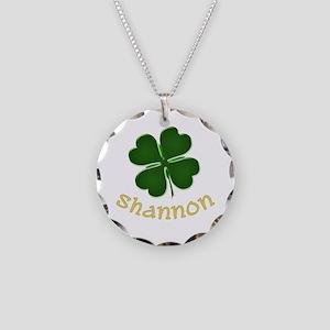 Shannon Irish Necklace Circle Charm