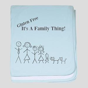 Gluten Free Family Thing baby blanket