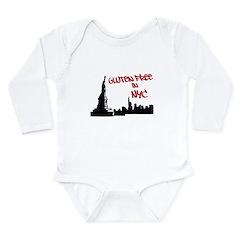 Gluten Free in NYC Long Sleeve Infant Bodysuit
