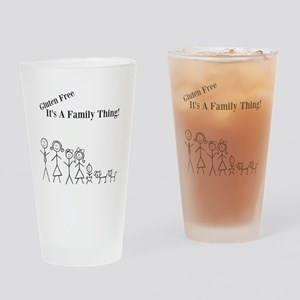 Gluten Free Family Thing Drinking Glass