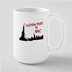 Gluten Free in NYC Large Mug