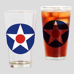 U.S. Star Drinking Glass