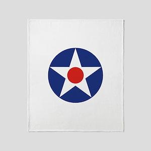U.S. Star Throw Blanket
