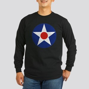 U.S. Star Long Sleeve Dark T-Shirt