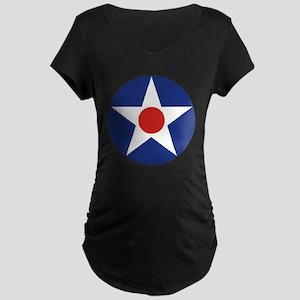U.S. Star Maternity Dark T-Shirt
