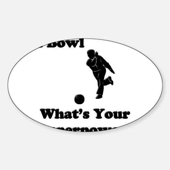 BowlSP Sticker (Oval)