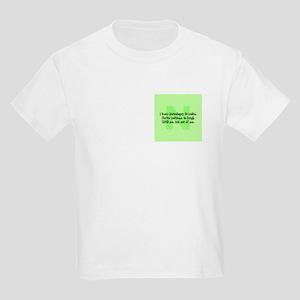 N is Weird! Kids Light T-Shirt