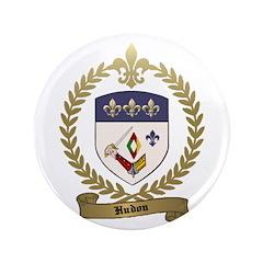 "HUDON Family Crest 3.5"" Button (100 pack)"