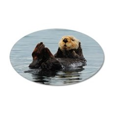 Alaskan Sea Otter Wall Sticker