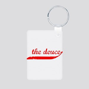 The Deuce!!! Aluminum Photo Keychain