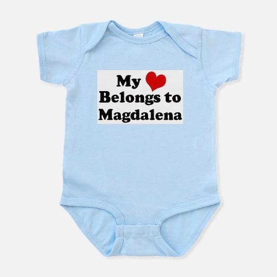 My Heart: Magdalena Infant Creeper