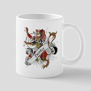 Hunter Tartan Lion Mug
