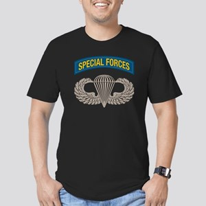 Airborne Special Forces Men's Fitted T-Shirt (dark