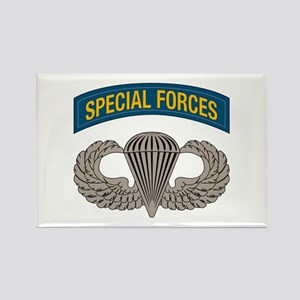 Airborne Special Forces Rectangle Magnet
