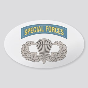 Airborne Special Forces Sticker (Oval)