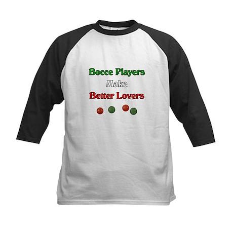 Bocce players make better lovers. Kids Baseball Je