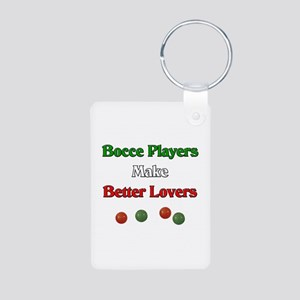 Bocce players make better lovers. Aluminum Photo K