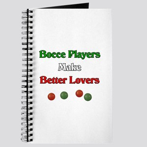 Bocce players make better lovers. Journal