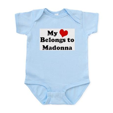 My Heart: Madonna Infant Creeper