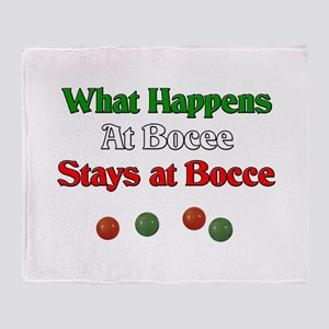 What happens at bocce stays at bocce. Stadium Bla