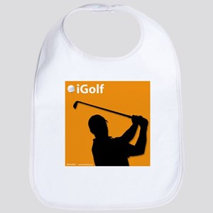 Official Orange iGolf Bib