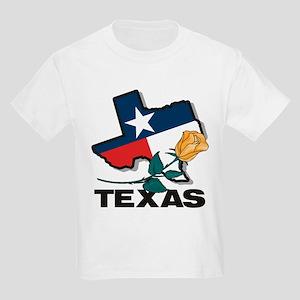 Texas Rose Kids T-Shirt