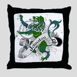 Johnston Tartan Lion Throw Pillow