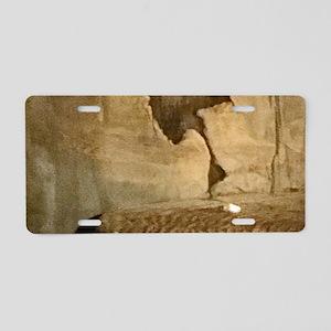 Ancient Indian Rock Aluminum License Plate