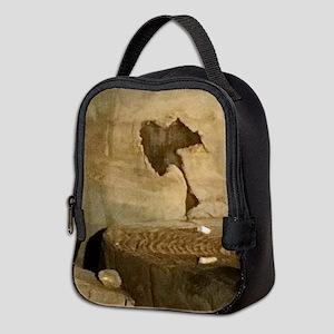 Ancient Indian Rock Neoprene Lunch Bag