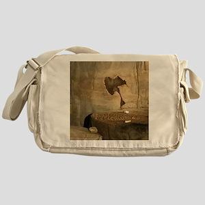 Ancient Indian Rock Messenger Bag