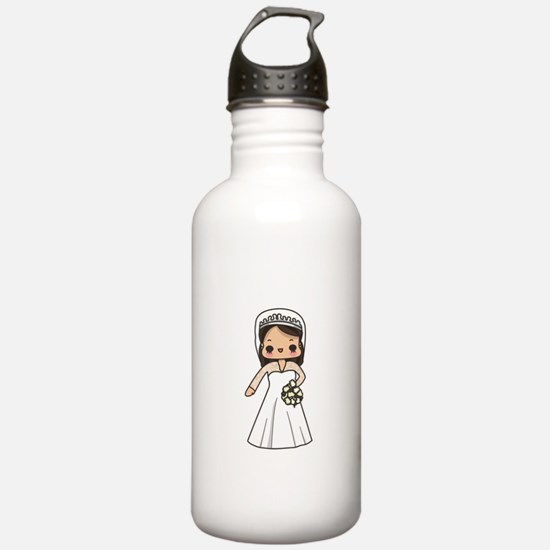 Kate Middleton and Dress Water Bottle