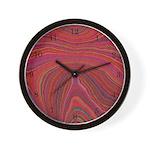 Cool Clocks Psychadelic design Wall Clock