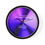 Jimi Hendrix Mural Beautiful quote Cool Clocks