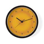 Santa Fe Sun Glaze Wall Clock