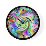 Eight Ball Fantasy Wall Clock