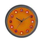 Plastic looking all Sports Cool Wall Clock