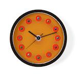 Cosmic Baseball Wall Clock