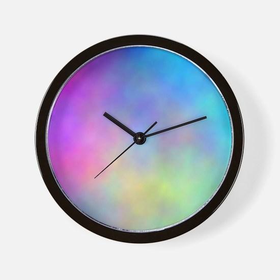""""""" Tye Dye Dyed """" Wall Clock"""