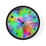 Planetary Solar System Wall Clock