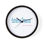 EXTREME DREAMS Wall Clock