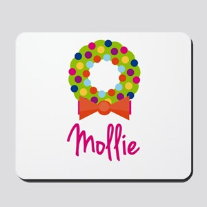 Christmas Wreath Mollie Mousepad