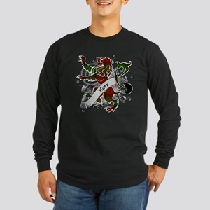 Kerr Tartan Lion Long Sleeve Dark T-Shirt