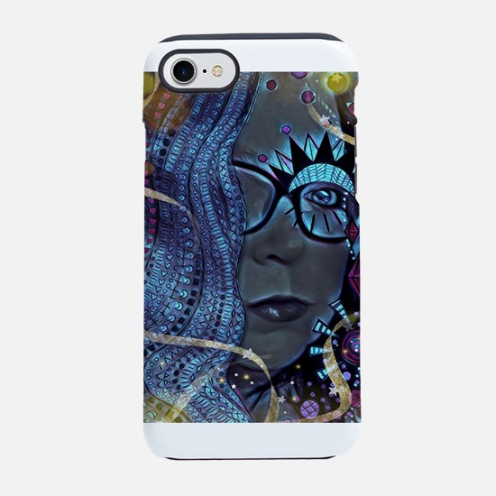 Voodoo Rose iPhone 7 Tough Case