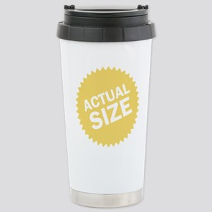 Actual Size Stainless Steel Travel Mug